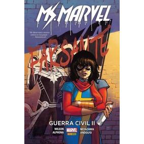 Hq - Ms. Marvel - Guerra Civil 2 - Completo Em Pdf