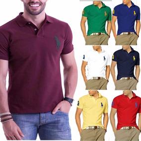 Camisa Gola Polo Extra Grande - Pólos Manga Curta Masculinas no ... 2c858d9765447