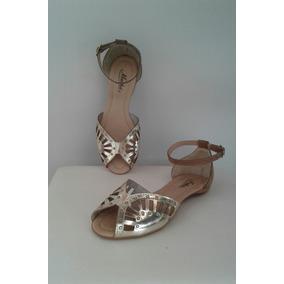 343fb41dc Sandalia Tornozeleira Salto Baixo Feminino - Sapatos no Mercado ...