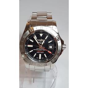 4413a955ea3 Relógio Breitiling Super Avenger 2 Gmt Otimo Estado