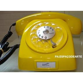( Pa.espaçodearte) Telefone Ericsson Amarelo - Antigo