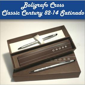 Bolígrafo Cross Century Satin (cromo Medalist Oro O Black)