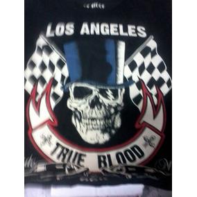 Camiseta Los Angeles True Blood/kustom Kulture/hot Rods