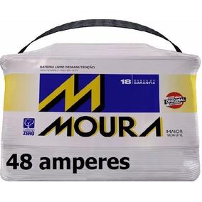 Bateria Moura 48ah Ford Ka Fiesta Ecosport 5s4510655ab