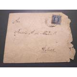 Sobre Correo Salitrero Dolores 1903 Ambulancia (c85)