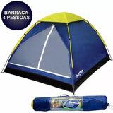 Barraca Iglu 4 Pessoas Camping + Bolsa 009035 Mor