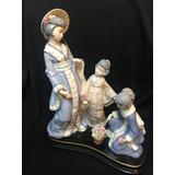 Figura De Porcelana Nadal Geishas