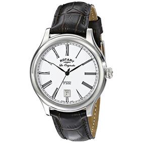 Rotary Unisex Le / 01 Reloj Automático De Acero Inoxidable
