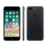 iPhone 7 Plus 128gb, Câmera Dupla Traseira - Preto Fosco