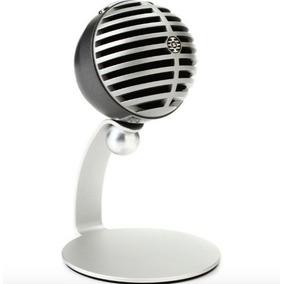 Microfono Shure De Mesa Condensador Usb Gris Mv5 Iphone Ipad