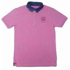 0ecc04b8aa Camisa Pólo Executive V Rosa Chiclete Médio - M.pollo