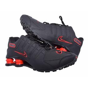 bb43e2fafe7 Nike Shox Nz Preto Vermelho - Nike no Mercado Livre Brasil