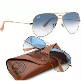 abfdb4e10bc6a Oculos Rayban Aviador Feminino - Óculos De Sol no Mercado Livre Brasil