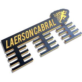 Porta Medalha Personalizado Corrida - Frete Grátis