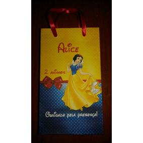 50 Sacolinhas Surpresa Personalizada Princesa Branca Neve