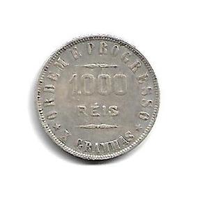 Moeda Brasil 1000 Réis 1907