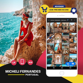Micheli Fernandes - Portugal Preset Lightroom + Acr + Mobile