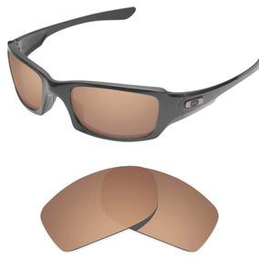 Oculos Oakley Fives Squared Marrom De Sol - Óculos no Mercado Livre ... dc7a959569