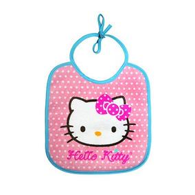 Babero Pequeño Hello Kitty Stitch