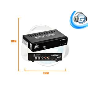 Decodificador Receptor De Tv Digital Lsdb-t / Usb Isdbt