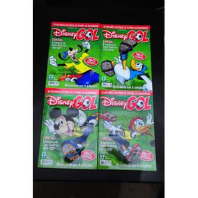 Disney Gol Coleção 4 Volumes