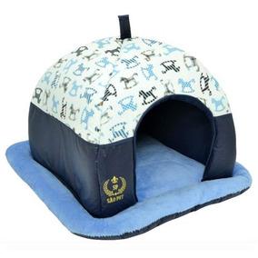 Caminha Tenda Luxo Toca Para Cães Cachorros Gatos Iglu