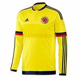 Camiseta Oficial Adidas Seleccion Colombia Copa America 2011 ... 4b6afd1cf34