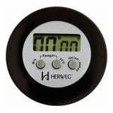 Cronometro Timer Regressivo Digital 60m Herweg 3308