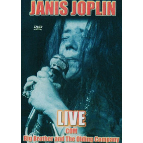 Dvd Janis Joplin Live Com Big Brother And The Olding Company
