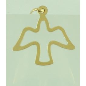 eaf7779837a44 Lançamento     Pingente Pomba Em Ouro Correntes - Joias e Bijuterias ...