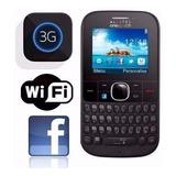 Celular Alcatel 3075m, 3g, Wifi, Camera, Radio, Mp3 Lacrado