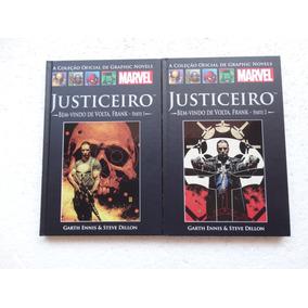 Coleção Oficial De Graphic Novels Nºs 18 E 19! Justiceiro