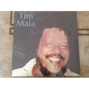 Tim Maia Lp 1978 With No One Else Around Lacrado Raro