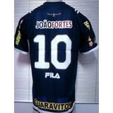 6b047c8cac Rara Camisa Botafogo Oficial Fila Azul Unif. Iv 2011 - 2012