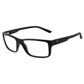 cad97b22b41bd Armação Oculos Grau Hb Polytech 9302400233 Preto Brilhoso