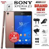 Nuevo Y Sellada De Fábrica Desbloqueado Sony Xperia Z3 D6603