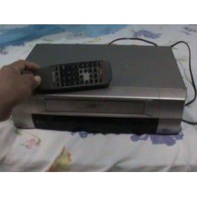 Video Cassete Philips 6 Cabeças C Controle Semi Novo