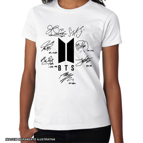Bts Casual - Camisas no Mercado Livre Brasil 238b2ddddc68c