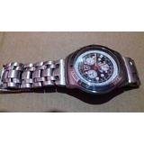 14d14336932 Relógio Swatch Cronografo Aço Ultra Raro
