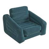 Sillon Sofa Cama Inflable Individual Dos Colores