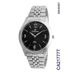 Relógio Champion Masculino Analógico Prateado Ca21777t