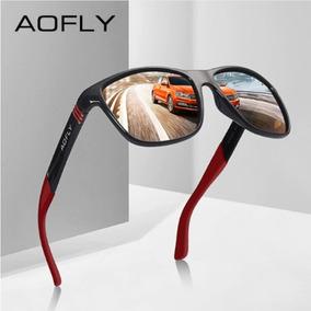 Óculos Sol Masculino Feminino Polarizado Aofly 8083 Original f9add43758