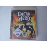 Guitar Hero World Tour Ps3 Disco Fisico