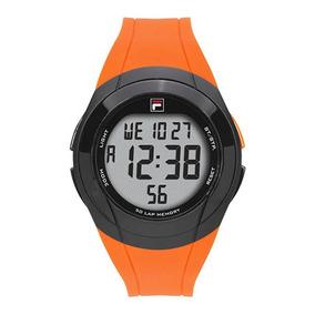 Relógio Fila Digital Masculino Laranja