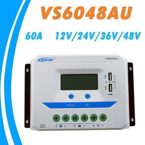 Controlador Carga 60a 12v/24v/36v/48v Epsolar Profissional
