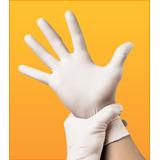 Luva Para Manicure De Látex Com Pó Tamanho G