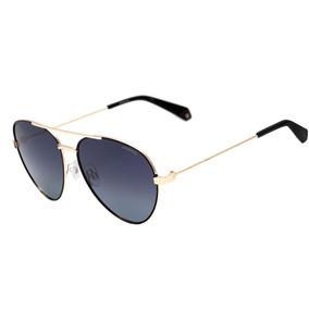 Polaroid Pld 6055 S - Óculos De Sol 807 Wj Preto E Dourado B c1393ae9a9