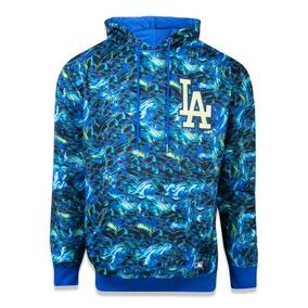 Moletom Canguru Fechado Los Angeles Dodgers Mlb New Era