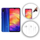 Xiaomi Redmi Note 7 4gb 128 Gb Cristal T. Funda Audífonos