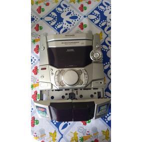 Placas E Frente Do Mini System Panasonic Sa-ak110